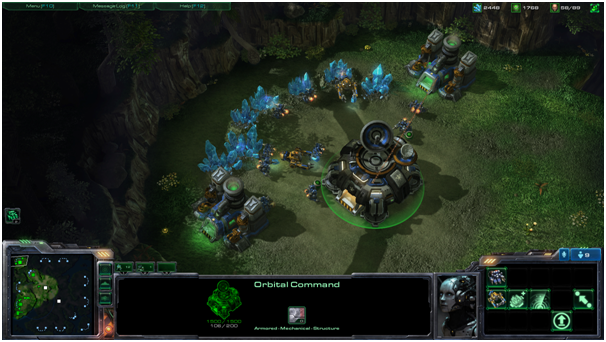 Starcraft 2: Wings of Liberty screenshot